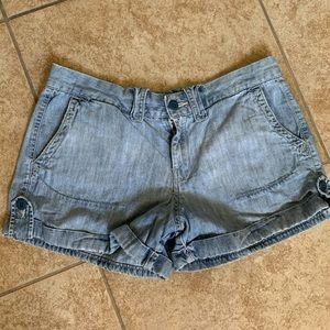 Lucky Brand lightwash cuffed shorts